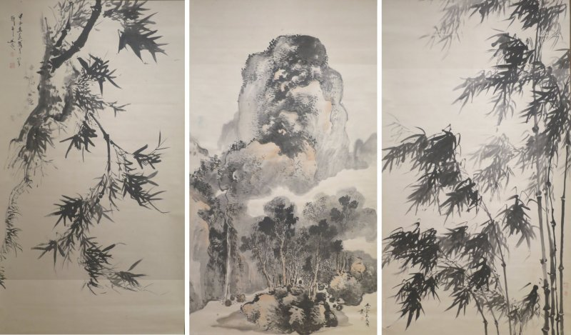 An example of Tani Buncho's work