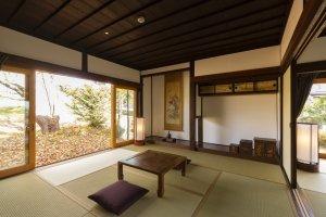 Kiyomizu Farmhouse tatami mat room