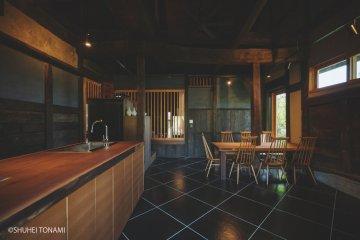 Kiyomizu Farmhouse dining room