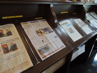 Newspapers in different languages