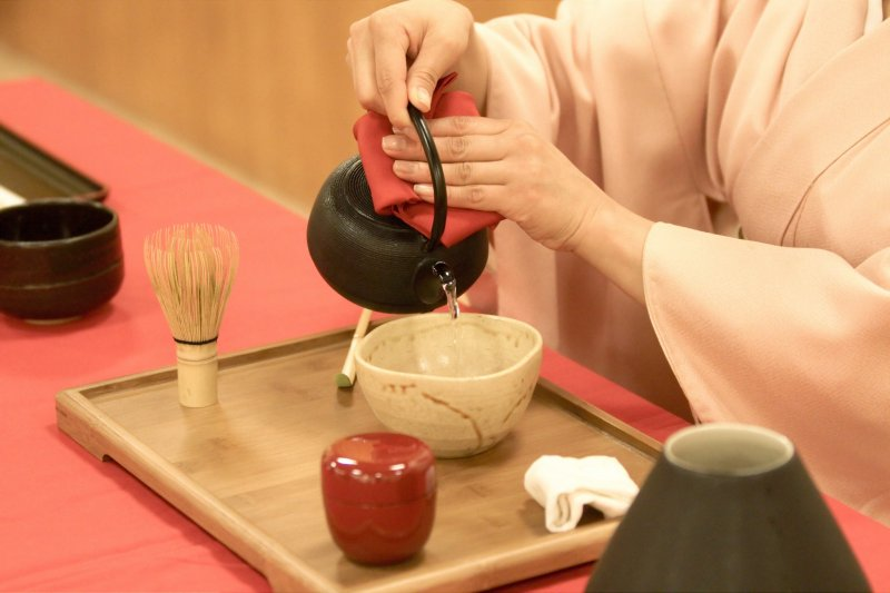 The importance and beauty of tea ceremonies was highlighted in Okakura Tenshin's 'The Book of Tea'