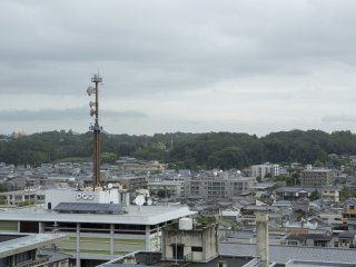 I also spotted the local NHK broadcasting centre