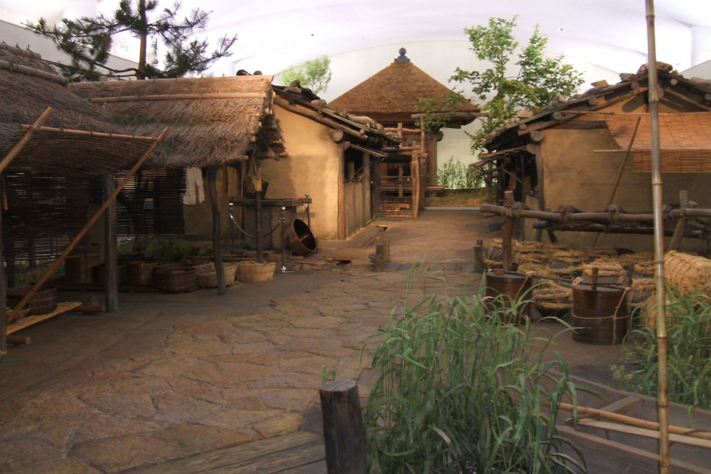 A Reconstruction of the Kusado Sengen-cho site at the Hiroshima Prefectural Museum of History