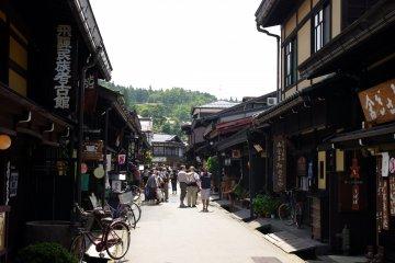 Takayama is tucked away in the mountains of Gifu