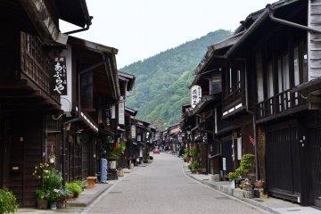 The ultra picturesque Narai-juku