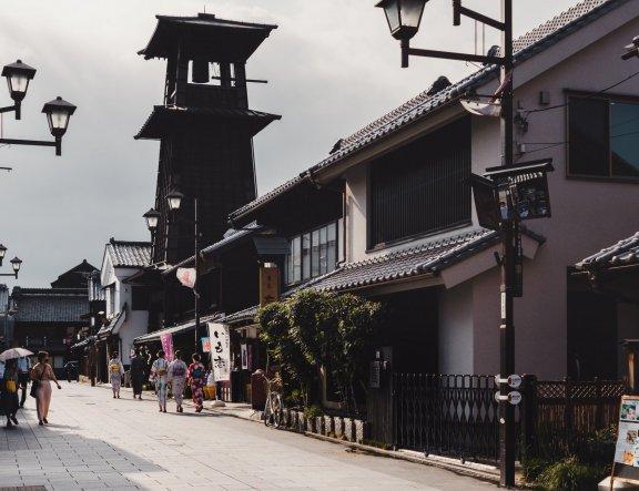 京都以外的5个日式传统街景