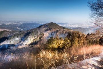 A view from the peak of Mount Sougaku