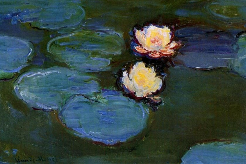 Waterlilies by Claude Monet will be on display at the event
