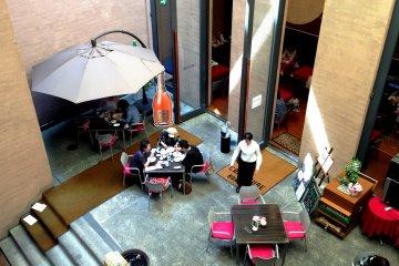คาเฟ่คูเบะที่ พิพิธภัณฑ์โฮโซมิ