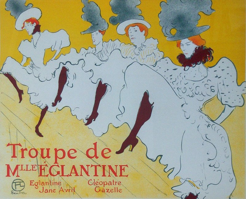 Lautrec was a prolific painter and printmaker