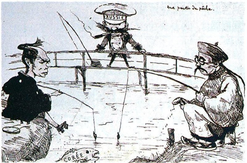 An example of Georges Bigot's satirical work