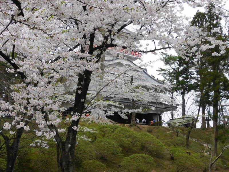 Kubota Castle Ruins at Senshu Park, Akita