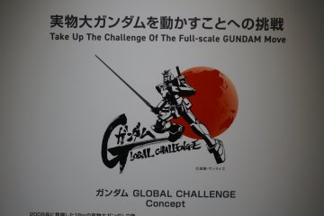 The Gundam Global Challenge logo.