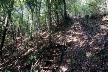The steps to Kyozuka 16