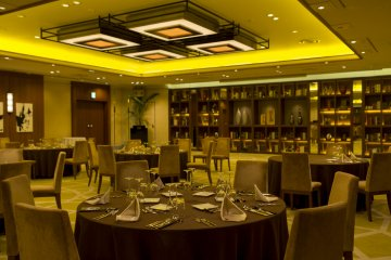 Midtown the second largest banquet hall is an impressive room at 373 sq metres
