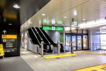 A modern, clean station