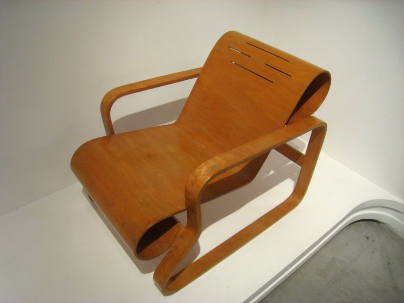 The Paimio Chair - one of Alvar Aalto's iconic designs