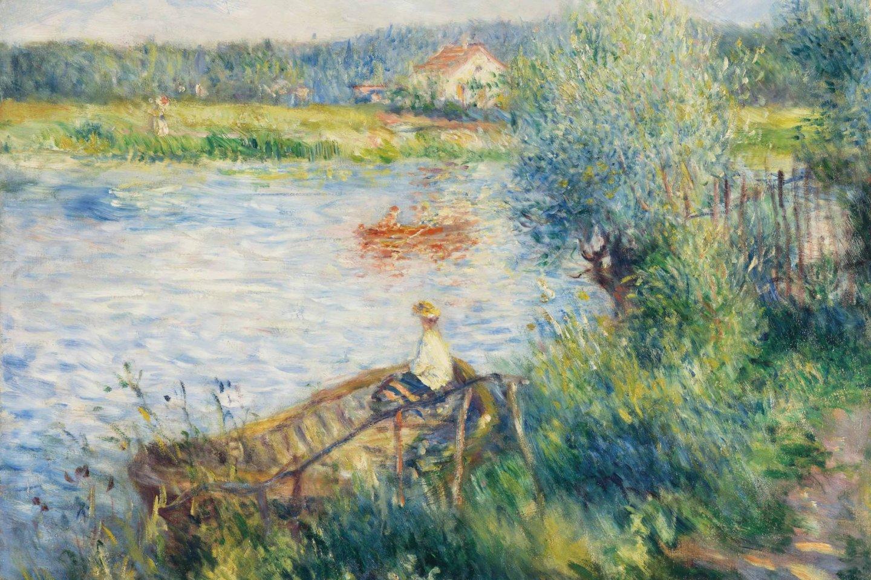 An example of Renoir\'s landscape art