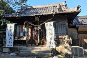 The small shrine building