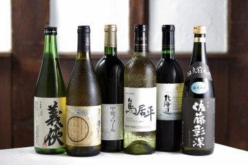 Shikemichi offers a wide range of boutique sake too!