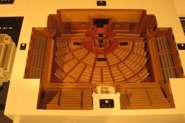 参议院会议大厅模型