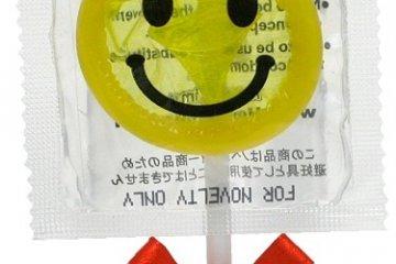 Condom pop!