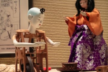 Edo-period Robots? Wonder of Karakuri