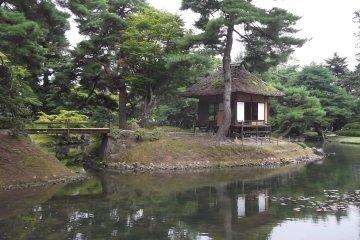 Oyaku-En Garden in Aizu Wakamatsu