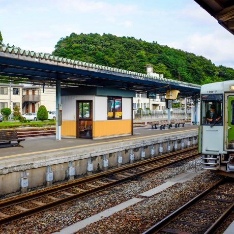 JR Kesennuma Station