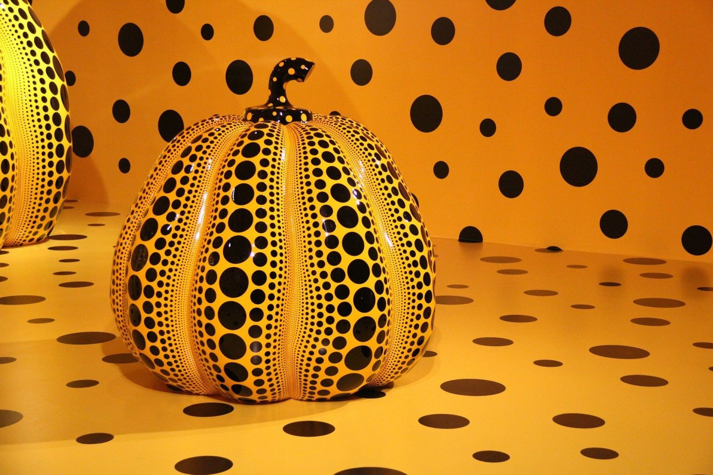 Kusama is known for a variety of works, including her signature polka-dot pieces