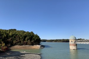 Lake Tama in Higashiyamato City
