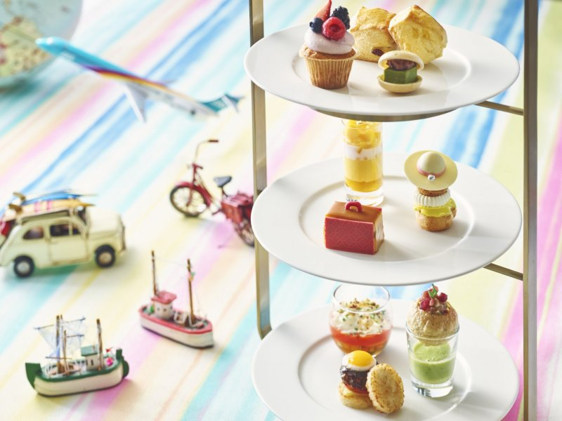 The Travel Afternoon Tea brings various cuisines to you