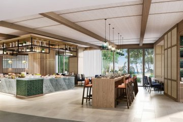 Restaurant and in-room dining will be available
