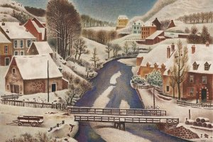 "Shikanosuke Oka's ""Snow Cover"" (1935)"
