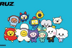 The Truz characters were created for the LINE app