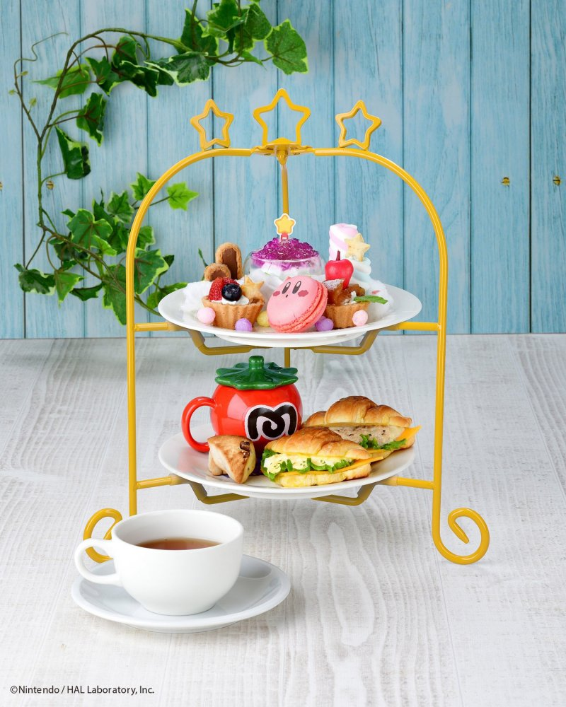 The adorably presented Kirby Afternoon Tea set
