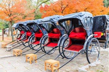 Rickshaw rides make for a memorable event.