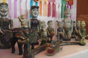 展示されている文化的工芸品