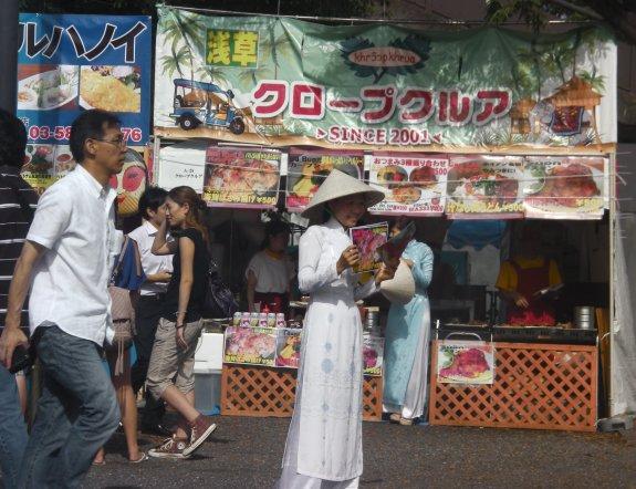 Lễ hội Việt Nam ở công viên Yoyogi