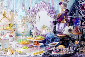 Black Mermaid Witch's Temptation Sweets Buffet