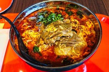 Spicy, extra meat Ramen