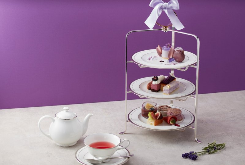Foods in a purple theme will feature at this afternoon tea event