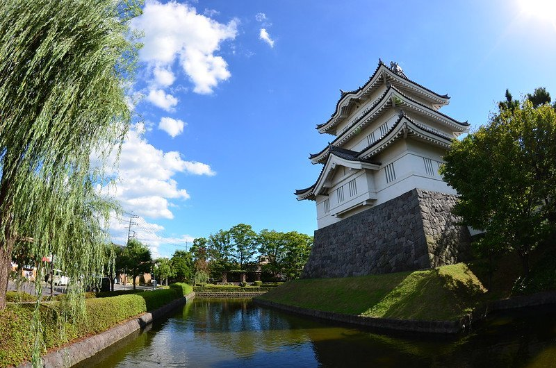 Oshijo, The floating Castle