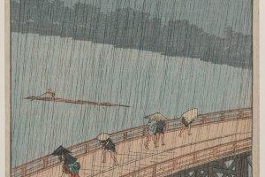 "Hiroshige's ""Sudden Shower over Shin-Ōhashi Bridge and Atake"""