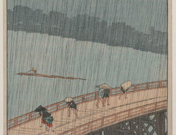 Weather in Ukiyo-e