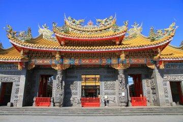 Seitenkyu, Japan's biggest Taoist temple