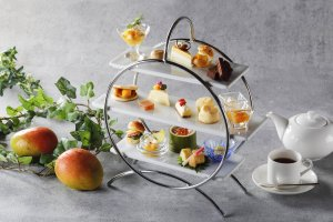 The tastes of tropical mango are incorporated into the dishes at this event