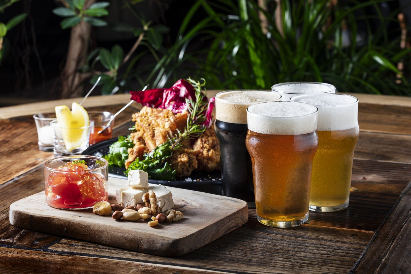 Try a variety of different beers at the Premium Beer Terrace event