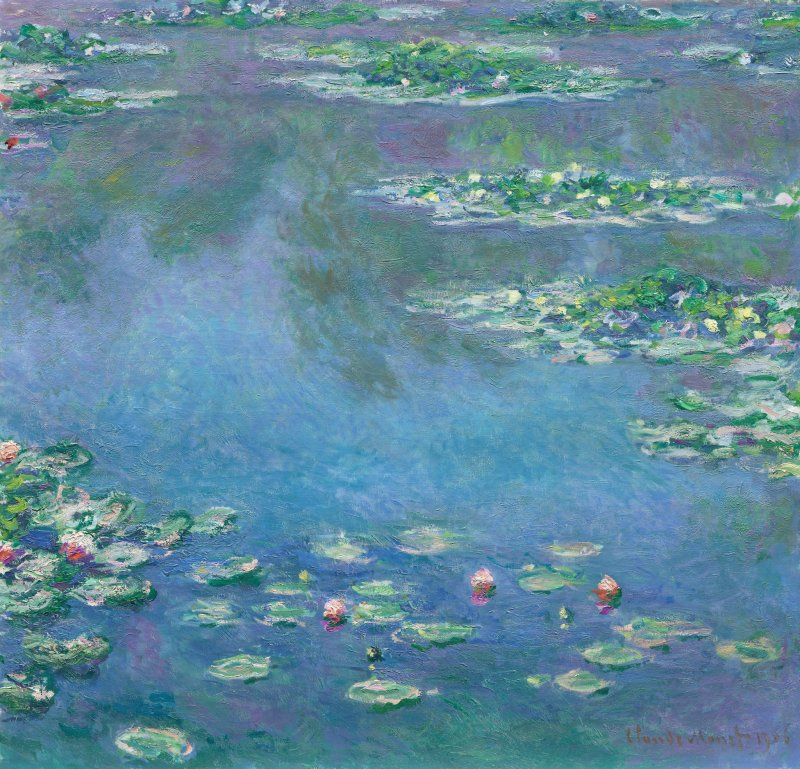 Works by Claude Monet will be featured at the event
