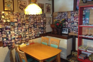 Casa de Tacos is filled with thousands of photos of its customers from decades past